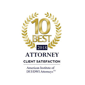 10 best client satisfaction  American institut of DUI/DWI attron